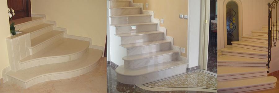 Scale greco cultura dei materiali marmi - Piastrelle scale interne ...